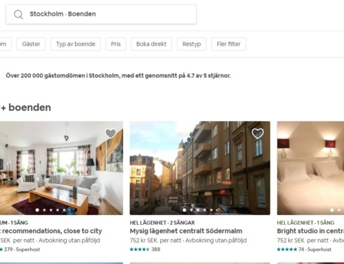 Uthyrning genom Airbnb kan få dig vräkt