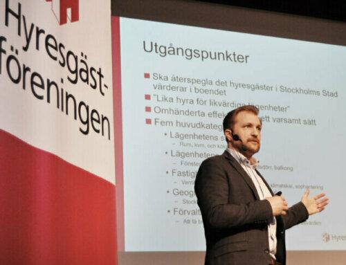 Halvdagskonferens – Stockholmshyra 30 mars