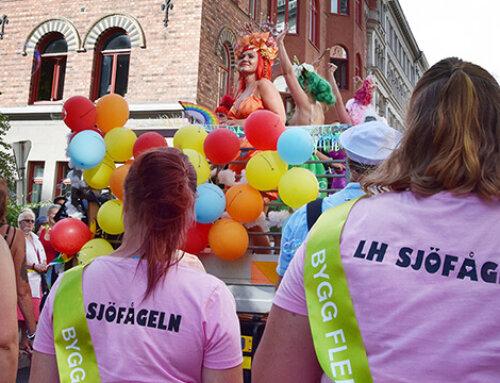 Hyresgästföreningen på Stockholm Pride 2019